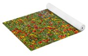 Wildflowers And Sky 2am-110541 Yoga Mat