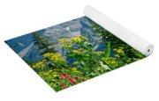 1m9372-v-wildflowers In Cascade Canyon, Tetons Yoga Mat