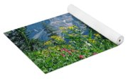 1m9371-h-wildflowers In Cascade Canyon, Tetons Yoga Mat