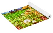 Wildflowers In The Wilds Of Colorado Yoga Mat