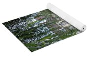 Willows Over The River Yoga Mat