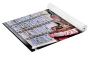 Window Shopping Yoga Mat