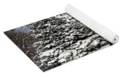 Winter In The Pines Yoga Mat