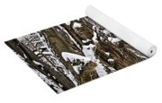 Winter Landscape Yoga Mat