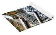 Winter Waterfall 2 Yoga Mat