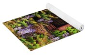 Wisteria On A Home In Zellenberg France 3 Yoga Mat