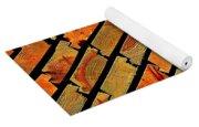 Wood Texture Yoga Mat