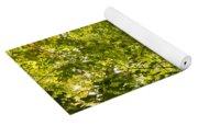 Woodland Background 02 Yoga Mat