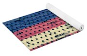 Worn Out American Flag Yoga Mat