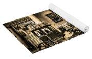 Ye Olde Sweet Shoppe Sepia Yoga Mat