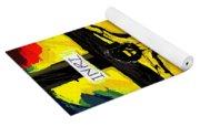 Yellow Christ  After Gauguin Yoga Mat