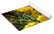 Yellow Daylilies Yoga Mat