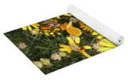 Yellow Flowers  Yoga Mat