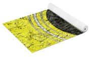 Yellow Guitar - Digital Painting - Music Yoga Mat