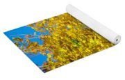 Yellow Maple Yoga Mat