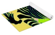 Zebra Pop Art Yoga Mat