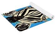 Zebra Portrait 5 Yoga Mat
