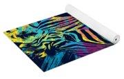 Zebra Splatters Yoga Mat
