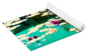 Zen Garden Water Lilies Pond Serenity And Beauty Lily Pads At The Lake Waterscene Art Carole Spandau Yoga Mat