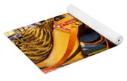 Wild Carrousel Horses  Yoga Mat