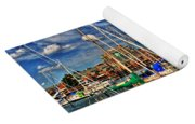 005 On A Summers Day  Erie Basin Marina Summer Series Yoga Mat