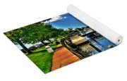 009 On A Summers Day  Erie Basin Marina Summer Series Yoga Mat