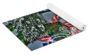 06 Christmas Cards Yoga Mat