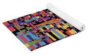 0649 Abstract Thought Yoga Mat