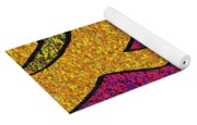 0665 Abstract Thought Yoga Mat