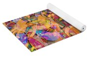 0672 Abstract Thought Yoga Mat