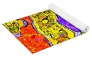 0673 Abstract Thought Yoga Mat
