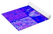 0674 Abstract Thought Yoga Mat