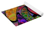 0677 Abstract Thought Yoga Mat