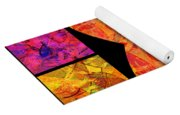 0690 Abstract Thought Yoga Mat
