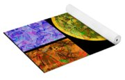 0691 Abstract Thought Yoga Mat