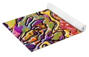 0693 Abstract Thought Yoga Mat