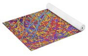 0705 Abstract Thought Yoga Mat