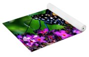 007 Making Things New Via The Butterfly Series Yoga Mat