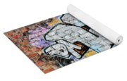 Abstract Graffiti  Yoga Mat