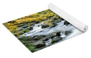 Autumn Stream 3 Yoga Mat