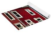 Colorful Houses In St. John's Newfoundland Yoga Mat