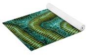 Coral Design Yoga Mat