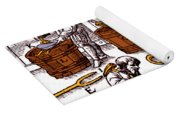De Re Metallica, Metallurgy Workshop Yoga Mat