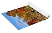Fall Forest Reflections Yoga Mat