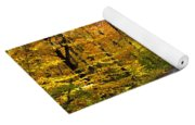 Fall In New England Yoga Mat