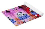 Hello Panda Biscuits Yoga Mat