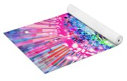 Lighting Effects And Graphic Design Yoga Mat