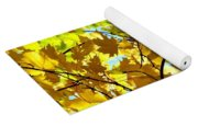 Maple Leaf Canopy Yoga Mat