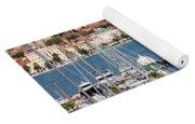 Split Cityscape Yoga Mat