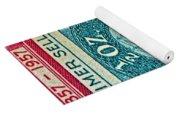 1957 Peru Ten Centavos Stamp Yoga Mat